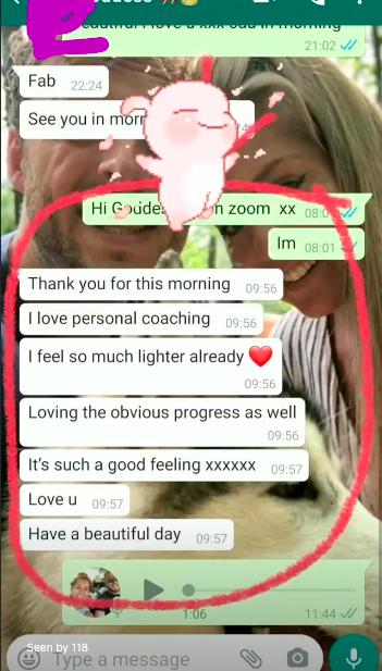 self love coach UK