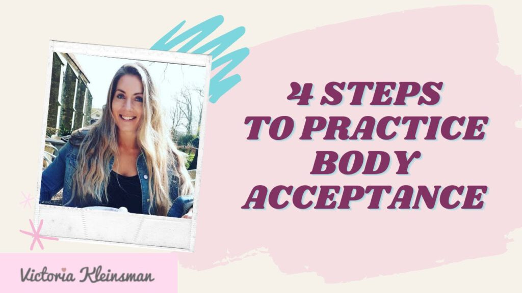 4 steps to better body image